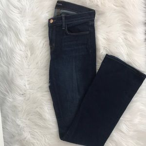 J Brand Mid Rise Betty Bootcut Jeans in Starlight